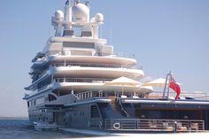 luna yacht | Yacht Luna | Flickr - Photo Sharing!