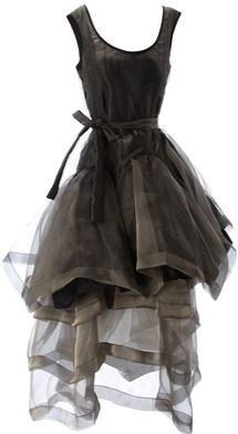 This gorgeous Vivienne Westwood dress would make a very chic witch #costume for #Halloween! Style your costume on WiShi! http://wishi.me/Halloween