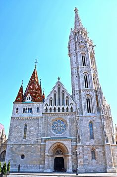 Church of Our Lady, also known as Matthias Church, Budapest, Hungary Cool Places To Visit, Places To Go, Capital Of Hungary, Hungary Travel, Church Of Our Lady, Beautiful Buildings, Modern Buildings, Cathedral Church, Church Building