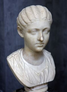 (c. 200-212 CE) Portrait of Fulvia Plautilla, wife of Emperor Caracalla