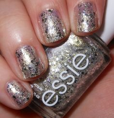 Essie Hors D'oeuvres -- THIS IS BEAUTIFUL! It looks like diamonds on your nails. My favorite nail polish ever!