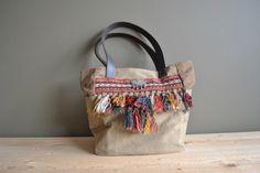 ethnic tassels canvas shoulder bag - turkmen tent band tribal tote bag - boho vintage fabrics tote bag - gipsy shoulder bag - boho purse by redstitchlab on Etsy https://www.etsy.com/listing/462376247/ethnic-tassels-canvas-shoulder-bag