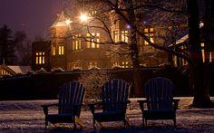 America's Most Romantic Winter Destinations: Blantyre Hotel, Berkshires