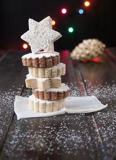 Jaleo en la Cocina: Dulce típico de Navidad: polvorones de canela o cacao