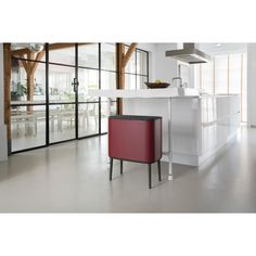 Bo Touch Bin 11 + 23 Litre - Mineral Windsor Red | Brabantia® South Africa