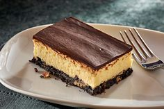 Layered Nanaimo Bar