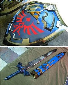 Legend of Zelda Sword and Shield :O