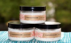 Homemade Mother's Day Gift Idea - Handmade DIY Foaming Salt Scrub Recipe