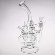 Tokacoaster Inline Perc Recycler Tired of your regular bong? Looking for something other than the traditional beaker bong style? Your search has ended with the Tokacoaster Glass Recycler. Joint, Cone Bowl, and Inline Perc, Nuff Said. Water Bongs, Chill Room, Pipe Lighting, Wine Decanter, Punch Bowls, Barware, Ganja, Stoner, Crystals