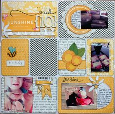 Project Life created by Lydell Quin using the April Main Kit.