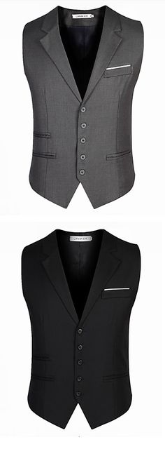 Nowadays few men still use vests! We have got many vests for you! Enjoy Early Bird Christmas sales discount until Dec Urban Apparel, Gentleman Mode, Gentleman Style, Latest Mens Fashion, Urban Fashion, Suit Fashion, Fashion Outfits, Fashion 2016, Style Masculin
