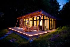 Self catering luxury accommodation in Yorkshire Dales Natural Retreats. Properly the best get away in the UK. Mini House Plans, Small House Plans, Yorkshire Dales, Small Houses For Sale, Small House Swoon, Weekend House, Cabins In The Woods, Building A House, House Styles