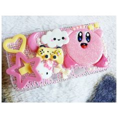 Hey, I found this really awesome Etsy listing at https://www.etsy.com/listing/177895547/kawaii-decoden-kirby-nintendo-3ds-xl