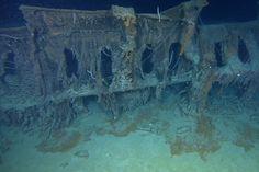 Titanic Pictures Underwater | ... Titanic's wreck site undertaken from a major, exclusive underwater