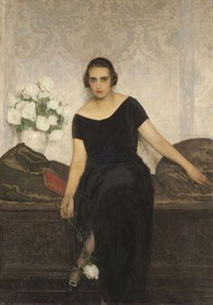 Victoria Ocampo, 1922 by Anselmo Miguel Nieto Victoria Ocampo, Art Deco Paintings, Long Hallway, Spanish Art, Woman Painting, History, Formal, Photography, Beauty