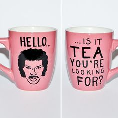 Hello Is It Tea You're Looking For? - Lionel Richie Mug #product_design