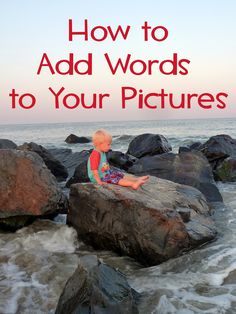 how to add words to pictures using paint.net