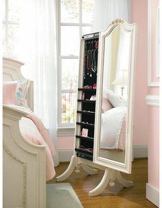 Gabriella Cheval Storage Mirror