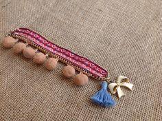 bracelet, summer, bohemian, boho, handmade, tassel Tassels, Handmade Jewelry, Beaded Bracelets, Bohemian, Summer, Fashion, Moda, Handmade Jewellery, Summer Recipes