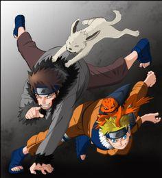 Kiba & Naruto