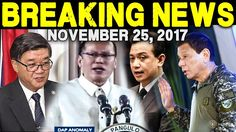 BREAKING NEWS TODAY NOVEMBER 25 2017 DOJ SEC AGUIRRE l NOYNOY AQUINO l T...