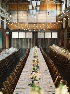 This wedding dances the line between garden and rustic; taking the natural beauty of an outdoor ceremony and pairing it with the industrial beauty of Sodo Park where family style dining reigns Queen. And folded into the pretty details is the design prowess of McKenzie