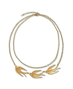 NEW! Brass Sparrow Necklace - Soul-Flower Online Store