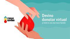Poți fi donator fără să donezi. Află cum. Romania, Movie Posters, Movies, Films, Film, Movie, Movie Quotes, Film Posters, Billboard