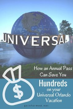 A Universal Orlando annual pass costs less then you think, and the discounts it brings can add up to big savings, even for a short visit.