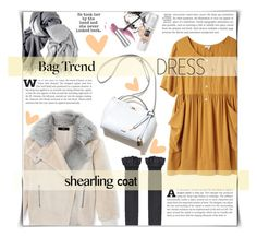 """""""Shearling coat"""" by dolly-valkyrie ❤ liked on Polyvore featuring TIBI, Steven Alan and shearlingcoat"""