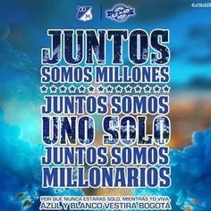#sevalesoñar  #millonarios #vamosporla15