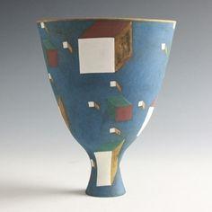 Elizabeth Fritsch: Vase: Collision of Particles