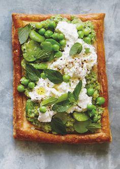 Pea Recipes, Vegetable Recipes, Vegetarian Recipes, Healthy Recipes, Veggie Dishes, English Peas, Spring Recipes, Ricotta, Food Hacks