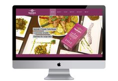 Harjinder's Kitchen - Branding and Website Design by Alpha Design & Marketing