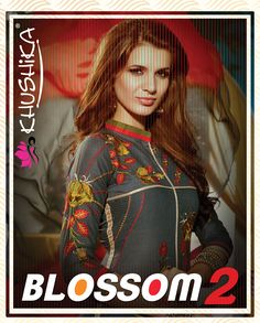 Revive your winter wardrobe with the looks we love. Buy #khushika awesome designer salwar suits collection Blossom Vol 2.