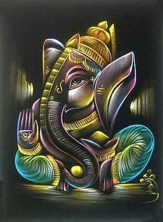 Lord Ganesha is one of the most popular Hindu deity. Here are top Lord Ganesha images, photos, HD wallpapers for your desktop and mobile devices. Ganesha Drawing, Lord Ganesha Paintings, Krishna Painting, Madhubani Painting, Krishna Art, Arte Ganesha, Clay Ganesha, Shri Ganesh, Ganesh Images