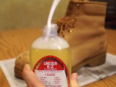 If you want to know the right way to clean suede Timberland boots in 6 easy steps, then check out this quick & informative guide. How To Clean Timberlands, Clean Timberland Boots, Clean Suede Boots, How To Clean Suede, Diy Cleaning Products, Cleaning Hacks, Nylons, Suede Cleaner, Jeans And Boots