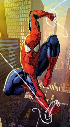 Spiderman by Fooray on Devianart Marvel Comics, Marvel Vs, Marvel Heroes, Captain Marvel, Amazing Spiderman, All Spiderman, Nightwing, Batwoman, Comic Book Characters