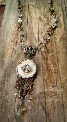 {Princess In the Tower} Necklace By Have Faith Designs