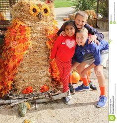 owl scarecrow giant - Google Search