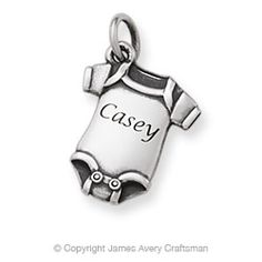 Baby Tee Charm From James Avery Want This For My Son Bracelet