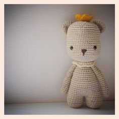{ Amour Fou | Crochet }: Pemberley - The Bear