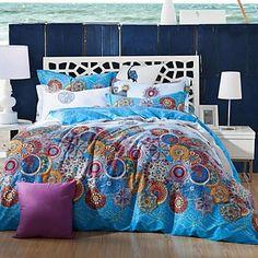 FADFAY@Exotic Bohemian Duvet Covers Boho Bedding Sets Designer Girls Queen Bed Sets Queen - USD $ 137.99