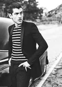 Alex Turner of Arctic Monkeys for GQ France, September 2014
