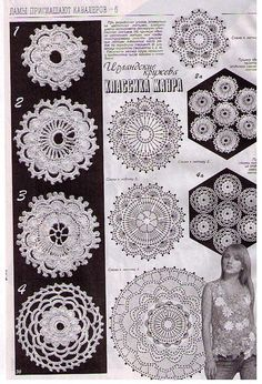 Motives of Irish lace - photos and diagrams Picture 040