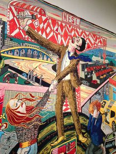 Grayson Perry - Artist - Tapestry