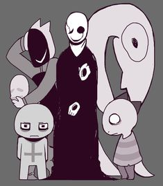 [The Brilliant W.D. Gaster] by wolfifi on DeviantArt