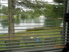 Spring Lake RV Resort. This was the view from inside Zoom.