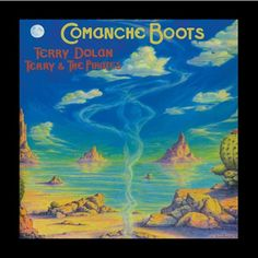 Terry & The Pirates Comanche Boots
