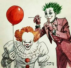 """Funny until """"It"""" gets his hands on the Joker!  Then we'll see if The Joker Floats!!!!⛵ ♥"""